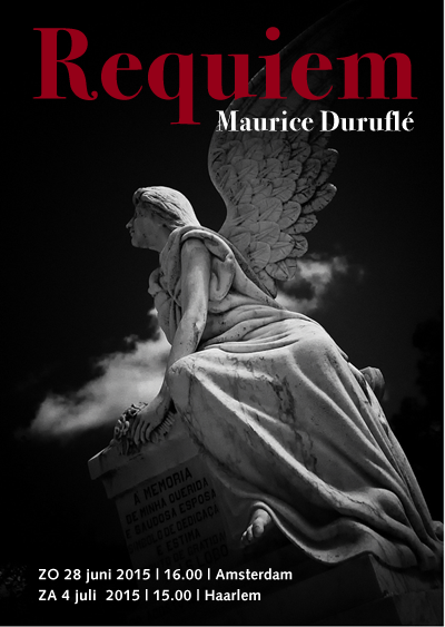 Flyer Requiem Duruflé 2015